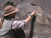 Stuart and Petroglyphs