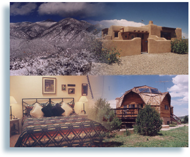 Taos lodging hotels b bs and vacation rentals in taos for Cabins in taos nm